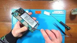 видео Замена системного разъёма питания micro USB