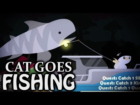 TIGER SHARK FAIL - Cat Goes Fishing