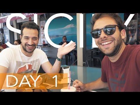 SICILY DAY 1: CATANIA ∫ VLOG 8