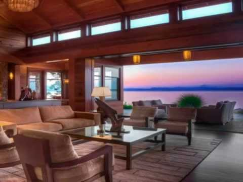 Pacific Northwest Homes San Juan Island Estate Youtube