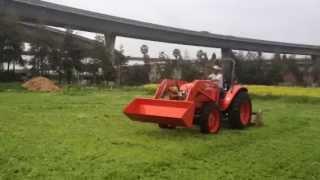 Rented Tractor Joy Ride