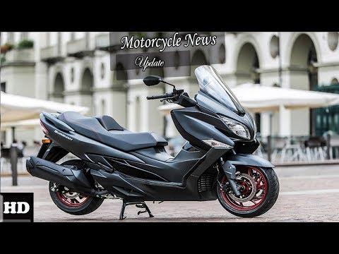 HOT NEWS !!! 2018 Suzuki Burgman 400 Review