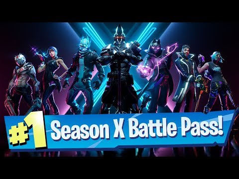 Fortnite Season X Battle Pass + Challenges Reaction