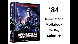 Terminator 2 Mediabook Blu Ray Unboxing
