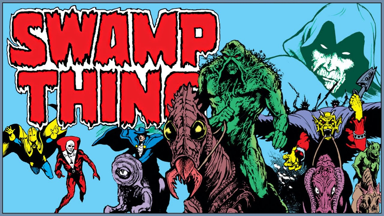 Download SWAMP THING: AMERICAN GOTHIC - The Dark Heart of a Nation Uncovered