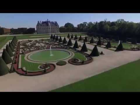 Parc de Sceaux vu du ciel
