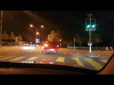 AMAZING NIGHT DRIVE SWITZERLAND BADEN