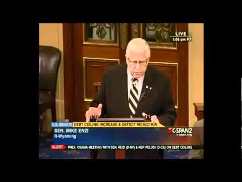 Your Senate Pill Special -- Mike Enzi T-3