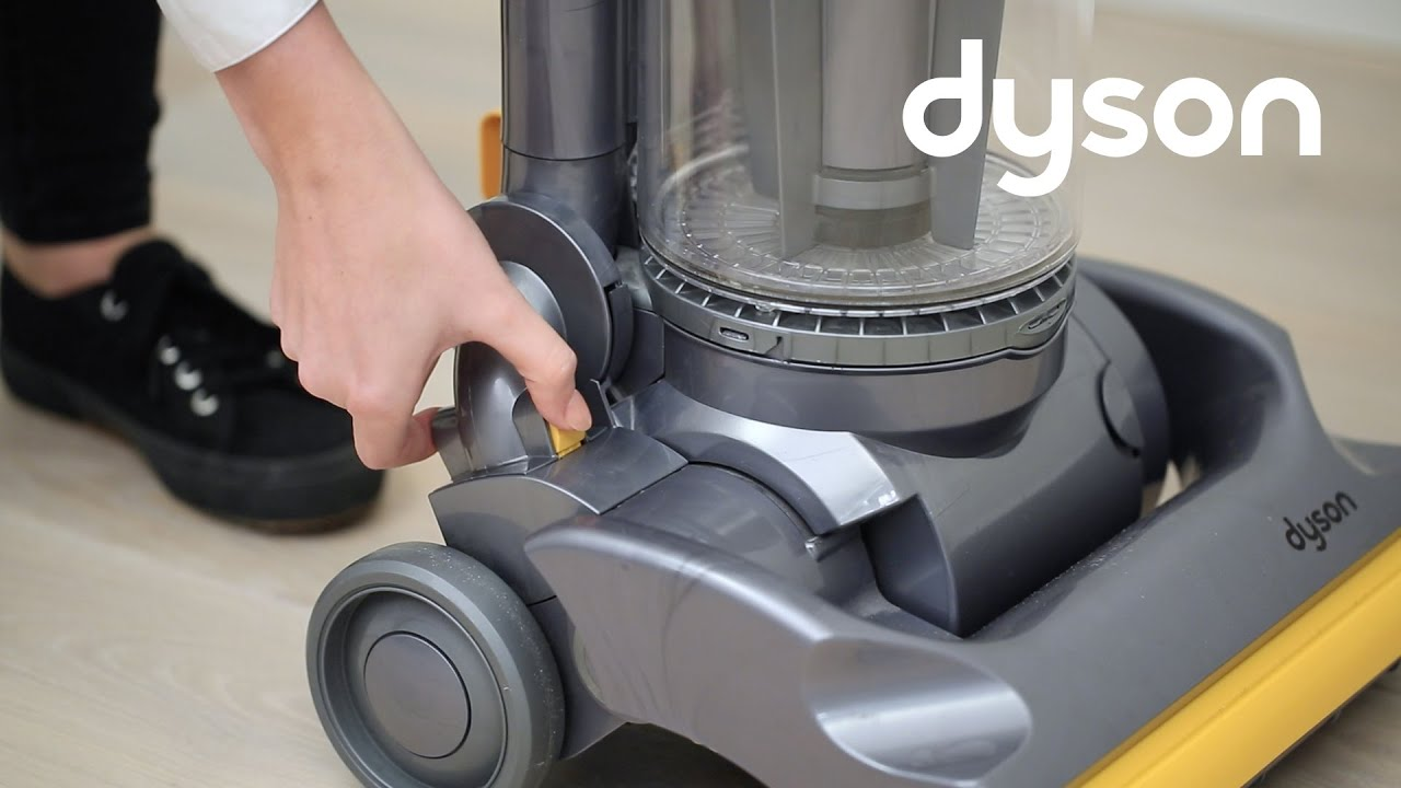 dyson dc07 motor removal instructions