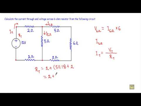 Current and Voltage in Complex Series Parallel Circuit - 1