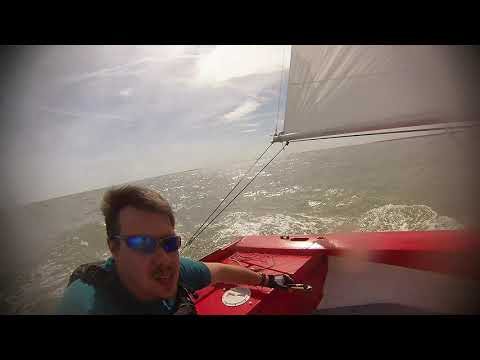 Wayfarer sailing on the River Blackwater sea kayak and spinnaker