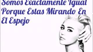 Miley Cyrus -Mirror (Letra Español)