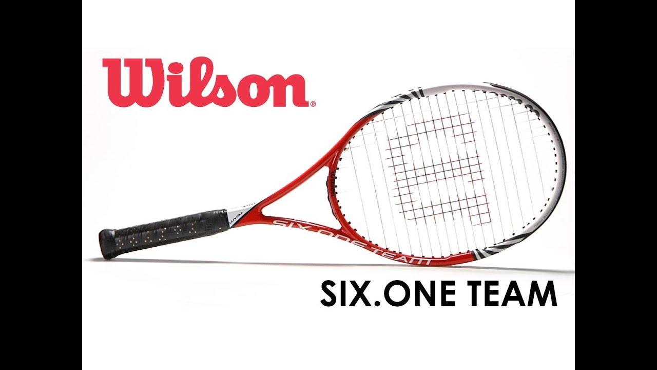 280c499d5bd80 Wilson Six.One Team Racquet Review