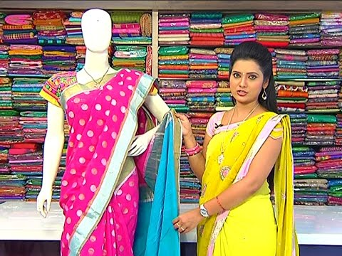 Blue And Pink Colour Fancy Saree  New Arrivals
