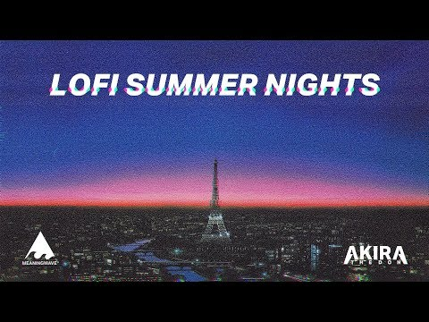 Lofi Summer Nights   | Lofi hip hop mix
