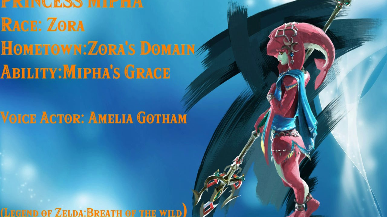 Princess Mipha Voice files