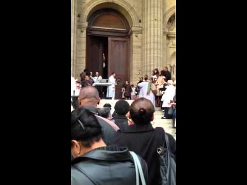 Jubilee mass at St. Sulpice church , Paris - Prayers