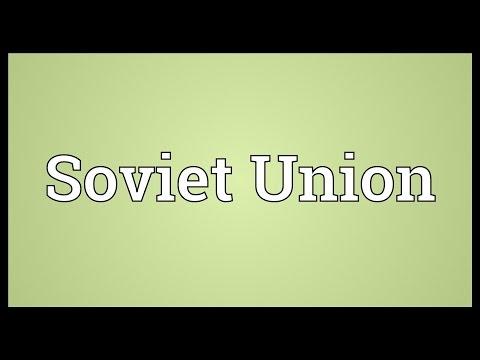 Soviet Union Meaning