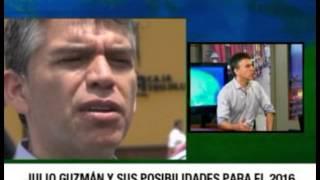 Entrevista al candidato presidencial Julio Guzmán en Ozono Televisión - Trujillo