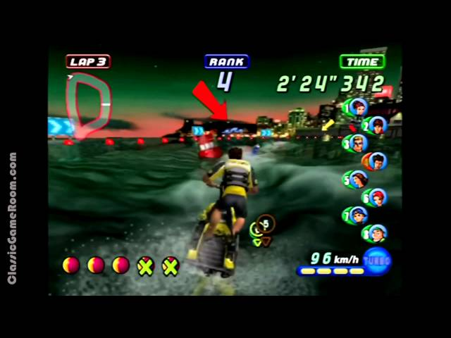 Classic Game Room - WAVE RACE: BLUE STORM review for Nintendo GameCube