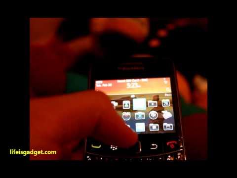 รีวิว Blackberry 9700 เวอชั่น 6
