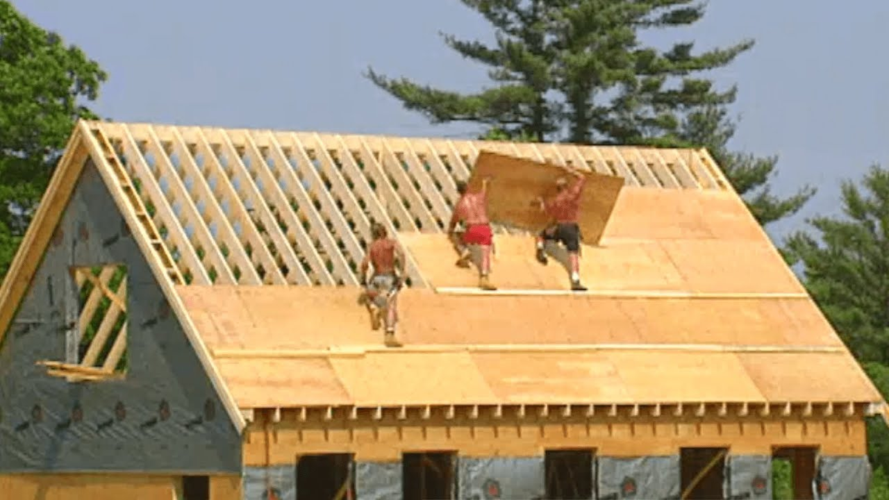 Framing And Building A New House