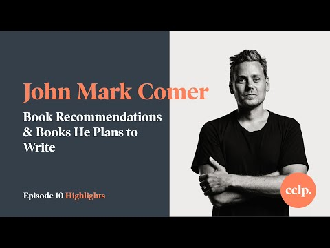 John Mark Comer's Book Recommendations & Books He Plans To Write