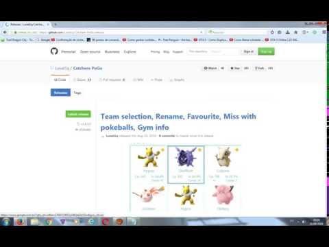 Novo hack de pokemon GO Tutorial