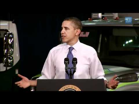 Obama Makes Case For Alternative Energy