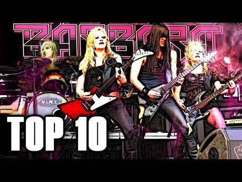 Top 10 ALL FEMALE Metal Bands 🤘