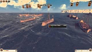 Total War: Rome 2 Online battle #4 (1v1 sea battle) - Seaman