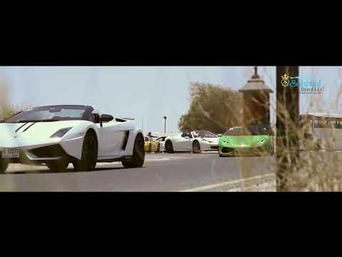 Bab AL Shams Resort Dubai UAE Sahiwa Dubai Luxury Car Rental - Supercars Parade Teaser
