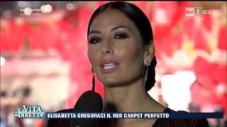 @La Vita in Diretta - Elisabetta Gregoraci e il