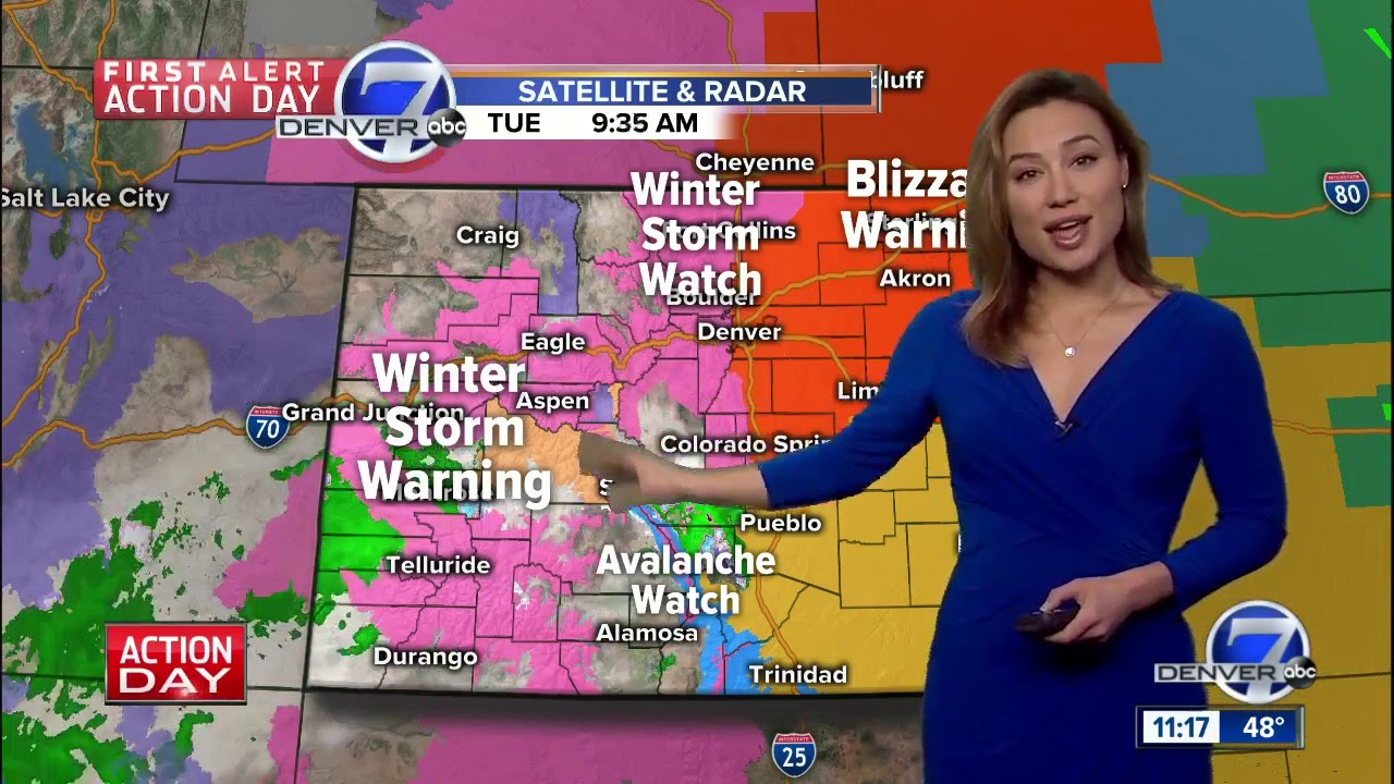 Blizzard warnings for Denver, northeast Colorado for Wednesday's storm