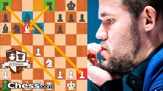CARLSEN ARRASA y  es CAMPEÓN!  | Altibox Norway  Chess 2019 (Ronda 8)