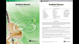 Arabian Dances, by Roland Barrett – Score & Sound