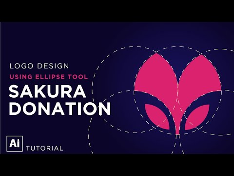 How to design a logo with [circular grid][Adobe Illustrator Tutorial] thumbnail