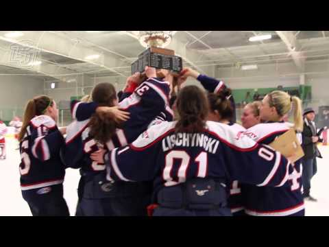 Liberty Women's Hockey team captures ACHA DI Championship title