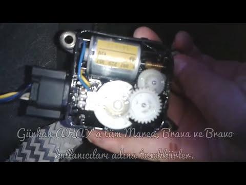 Fiat Marea, Brava Ve Bravo Araçların Sıcak/soğuk Ayar Düğmesi çalışmıyor. Error Cli Arızası çözümü.