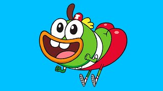 How To Draw Paint Buhdeuce Breadwinners Nickelodeon Как нарисовать  Шлёп-Шлёпа Хлебоутоки Никелодеон