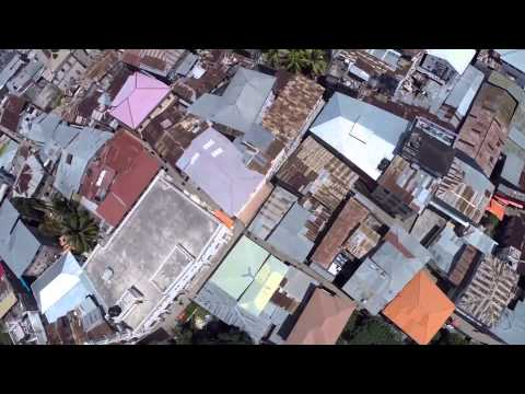 Zanzibar church   drone video to William