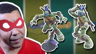 O novo mascote! PVC filme Turtle Action Figure! Leonardo