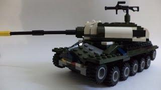 Lego World of Tanks #31 -  ИС-7 из лего . Инструкция