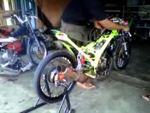 Foto Motor Drag Satria Fu 200cc