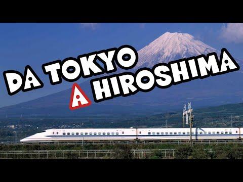 DA TOKYO AD HIROSHIMA IN SHINKANSEN! IL MONTE FUJI ESISTE!