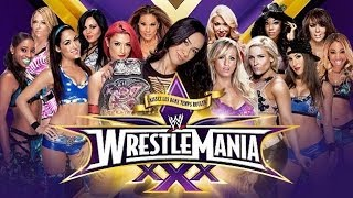 vuclip WWE 2K14  Battle Royal Divas (Match for the WWE Divas Championship) Wrestlemania 30