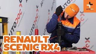 Hoe Achteraslager vervangen RENAULT SCÉNIC I (JA0/1_) - video gratis online
