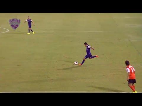 Asistencia de Darwin Ceren - Orlando City SC 4-1 Charlotte Eagles