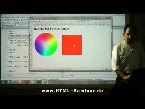 Tutorial Zu CSS3-Farben Mit HSL-Farbschema Http://www.html-seminar.de