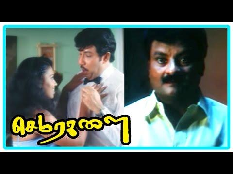 Sema Ragalai Movie | Comedy Scene | Sathyaraj is misunderstood to commit suicide | Kalabavan Mani thumbnail